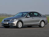 Mercedes-Benz C 180 UK-spec (W204) 2011 images