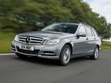 Mercedes-Benz C 220 CDI Estate UK-spec (S204) 2011 images