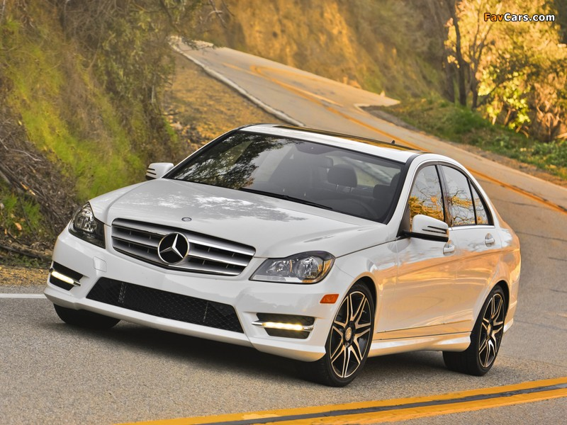 Mercedes-Benz C 300 4MATIC AMG Sports Package US-spec (W204) 2011 images (800 x 600)