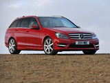 Mercedes-Benz C 250 CDI AMG Sports Package Estate UK-spec (S204) 2011 images