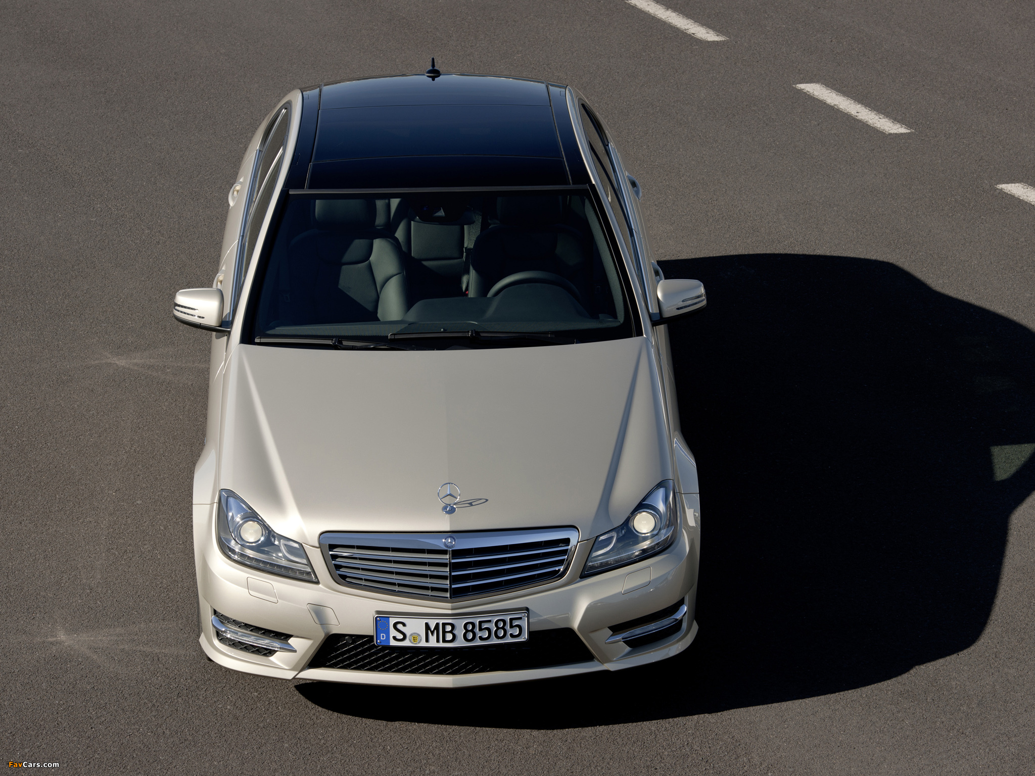 Mercedes-Benz C 350 AMG Sports Package (W204) 2011 images (2048 x 1536)