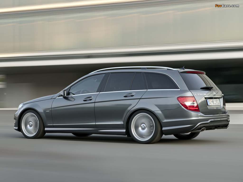 Mercedes-Benz C 350 CDI 4MATIC AMG Sports Package Estate (S204) 2011 images (1024 x 768)