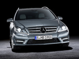 Mercedes-Benz C 350 CDI 4MATIC AMG Sports Package Estate (S204) 2011 images