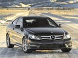Mercedes-Benz C 350 4MATIC Coupe US-spec (C204) 2011 images