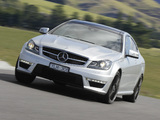 Mercedes-Benz C 63 AMG Coupe AU-spec (C204) 2011 images