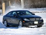 Mercedes-Benz C 250 Coupe US-spec (C204) 2011 images