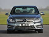Mercedes-Benz C 220 CDI AMG Sports Package UK-spec (W204) 2011 images