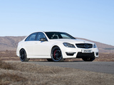 Mercedes-Benz C 63 AMG UK-spec (W204) 2011 images