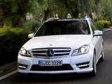 Mercedes-Benz C 250 AMG Sports Package Estate (S204) 2011 images