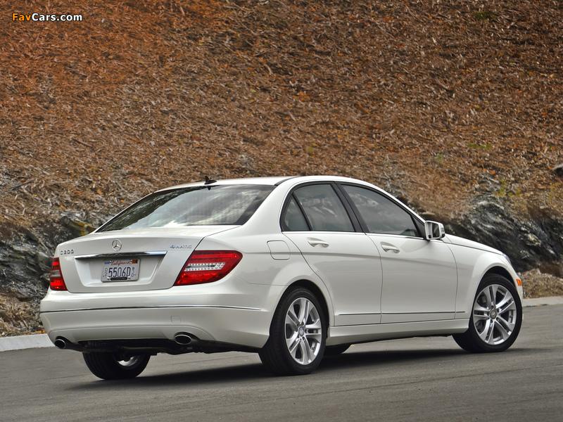 Mercedes-Benz C 300 4MATIC US-spec (W204) 2011 photos (800 x 600)