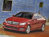 Mercedes-Benz C 250 Coupe US-spec (C204) 2011 photos