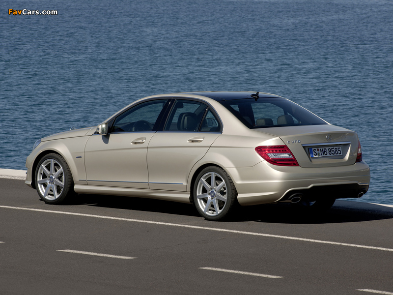 Mercedes-Benz C 350 AMG Sports Package (W204) 2011 photos (800 x 600)