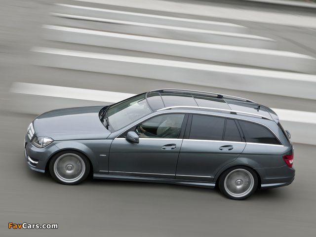 Mercedes-Benz C 350 CDI 4MATIC AMG Sports Package Estate (S204) 2011 photos (640 x 480)
