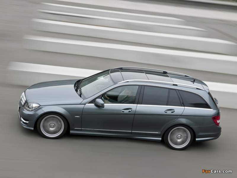 Mercedes-Benz C 350 CDI 4MATIC AMG Sports Package Estate (S204) 2011 photos (800 x 600)
