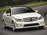 Mercedes-Benz C 350 Coupe US-spec (C204) 2011 photos