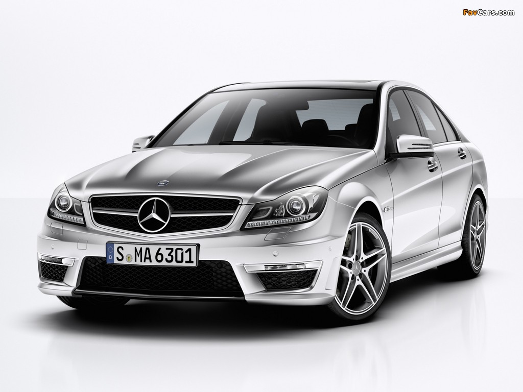 Mercedes-Benz C 63 AMG (W204) 2011 photos (1024 x 768)
