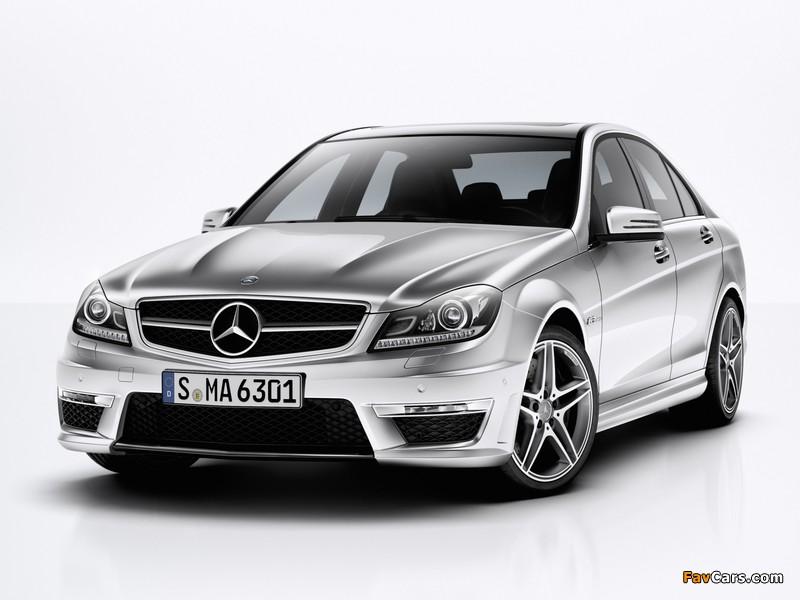 Mercedes-Benz C 63 AMG (W204) 2011 photos (800 x 600)