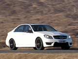 Mercedes-Benz C 63 AMG UK-spec (W204) 2011 photos