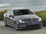 Mercedes-Benz C 63 AMG US-spec (W204) 2011 photos