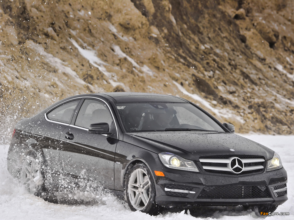 Mercedes-Benz C 350 4MATIC Coupe US-spec (C204) 2011 photos (1024 x 768)
