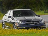 Mercedes-Benz C 63 AMG US-spec (W204) 2011 photos