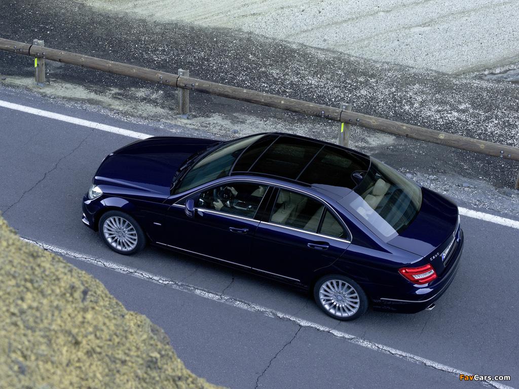 Mercedes-Benz C 250 CDI BlueEfficiency (W204) 2011 photos (1024 x 768)