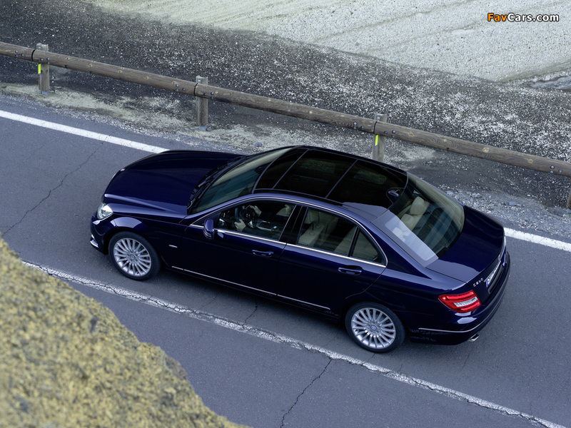 Mercedes-Benz C 250 CDI BlueEfficiency (W204) 2011 photos (800 x 600)