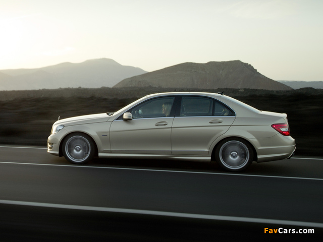 Mercedes-Benz C 350 AMG Sports Package (W204) 2011 photos (640 x 480)