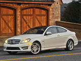 Mercedes-Benz C 350 Coupe US-spec (C204) 2011 pictures