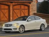 Mercedes-Benz C 350 Coupe US-spec (C204) 2011 pictures