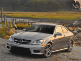 Mercedes-Benz C 63 AMG Coupe US-spec (C204) 2011 pictures