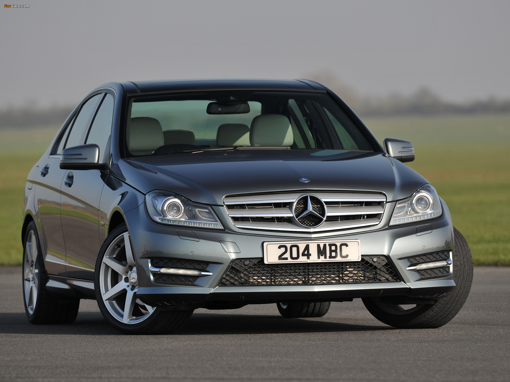Mercedes-Benz C 220 CDI AMG Sports Package UK-spec (W204) 2011 pictures (2048 x 1536)