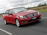 Mercedes-Benz C 250 AMG Sports Package AU-spec (W204) 2011 pictures
