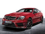 Mercedes-Benz C 63 AMG Black Series Coupe (C204) 2011 pictures