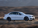 Mercedes-Benz C 63 AMG UK-spec (W204) 2011 pictures
