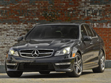 Mercedes-Benz C 63 AMG US-spec (W204) 2011 pictures