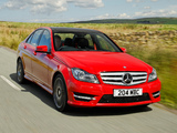 Mercedes-Benz C 220 CDI AMG Sports Package UK-spec (W204) 2011 pictures