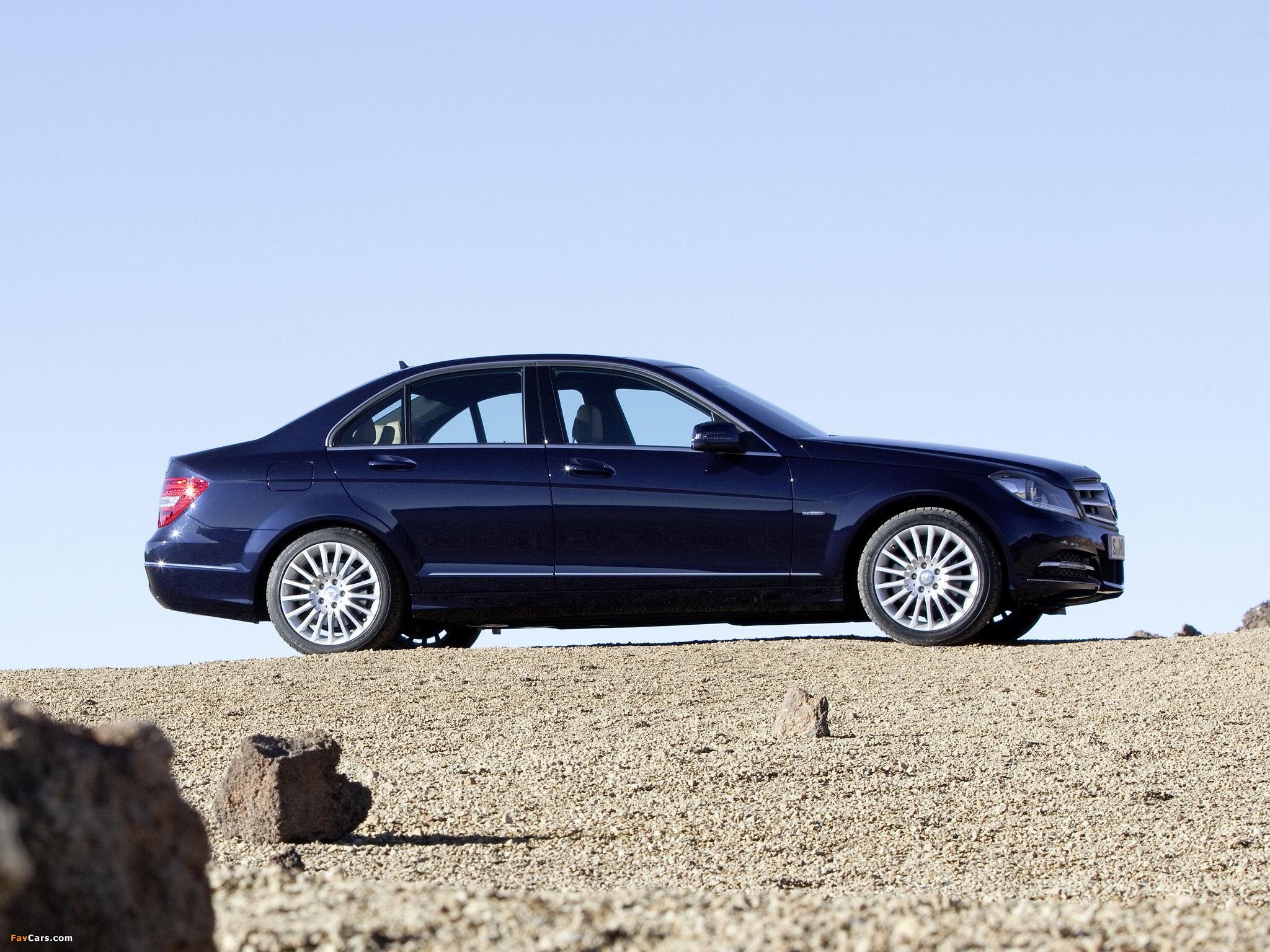 Mercedes-Benz C 250 CDI BlueEfficiency (W204) 2011 pictures (2048 x 1536)