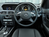 Mercedes-Benz C 180 UK-spec (W204) 2011 pictures
