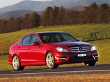 Mercedes-Benz C 250 AMG Sports Package AU-spec (W204) 2011 wallpapers