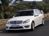 Mercedes-Benz C 250 AMG Sports Package Estate (S204) 2011 wallpapers