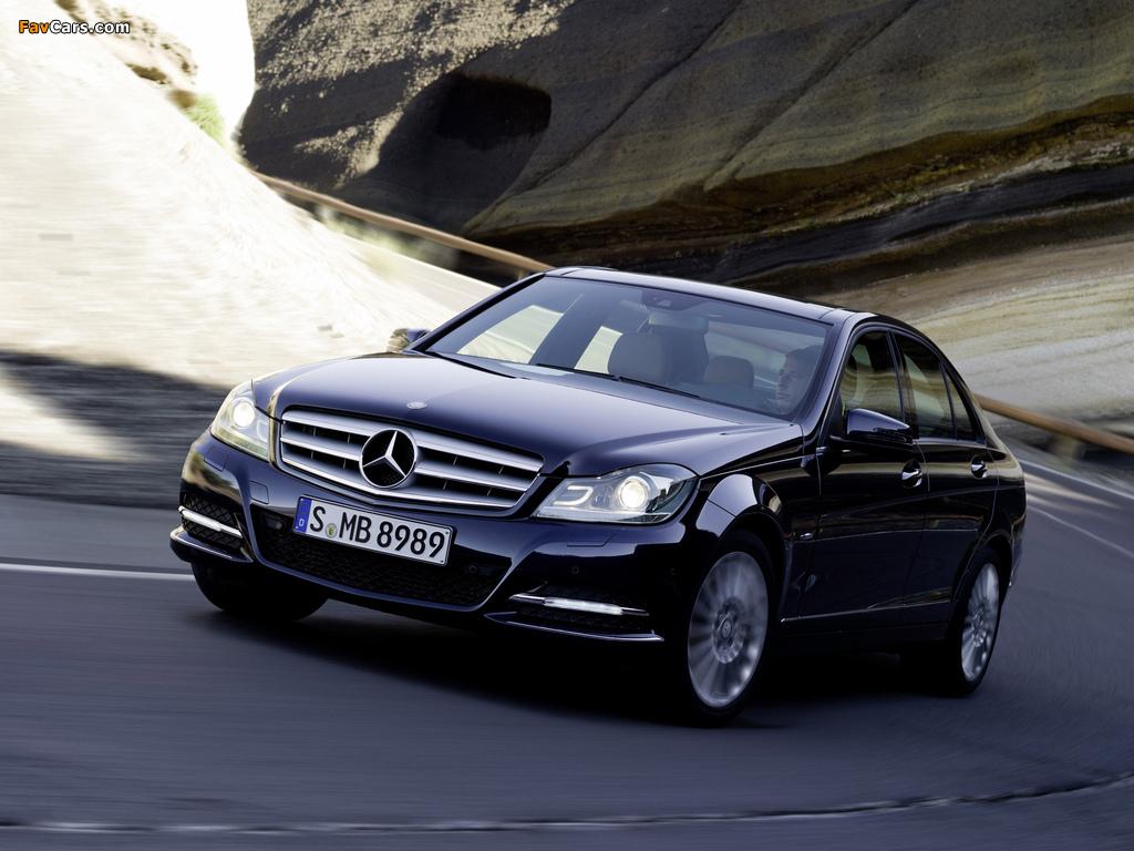 Mercedes-Benz C 250 CDI BlueEfficiency (W204) 2011 wallpapers (1024 x 768)