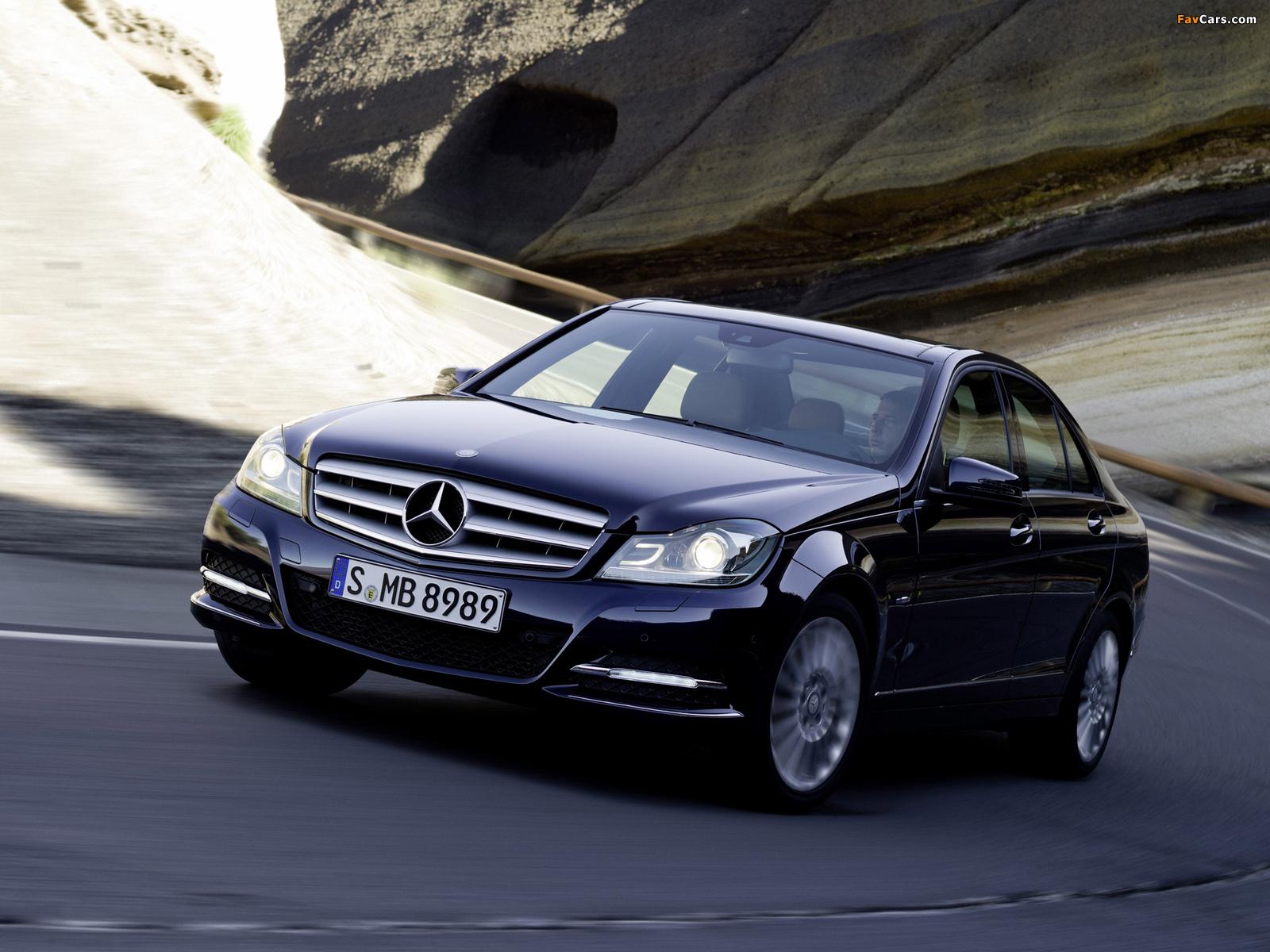 Mercedes-Benz C 250 CDI BlueEfficiency (W204) 2011 wallpapers (1600 x 1200)