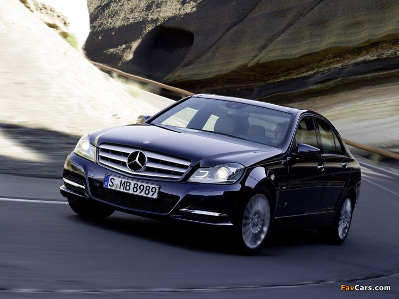 Mercedes-Benz C 250 CDI BlueEfficiency (W204) 2011 wallpapers (800 x 600)
