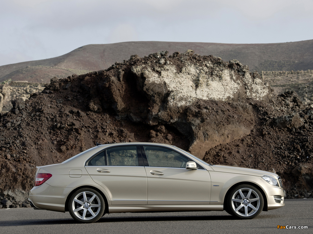 Mercedes-Benz C 350 AMG Sports Package (W204) 2011 wallpapers (1024 x 768)