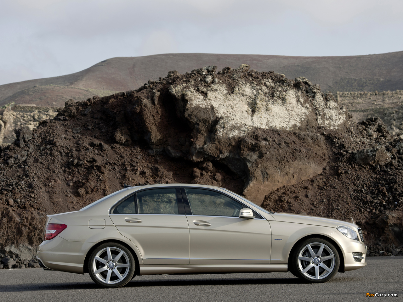 Mercedes-Benz C 350 AMG Sports Package (W204) 2011 wallpapers (1280 x 960)
