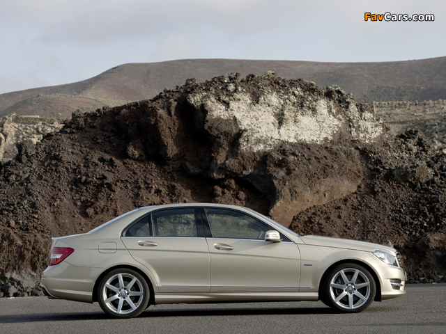 Mercedes-Benz C 350 AMG Sports Package (W204) 2011 wallpapers (640 x 480)