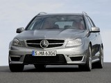 Mercedes-Benz C 63 AMG Estate (S204) 2011 wallpapers