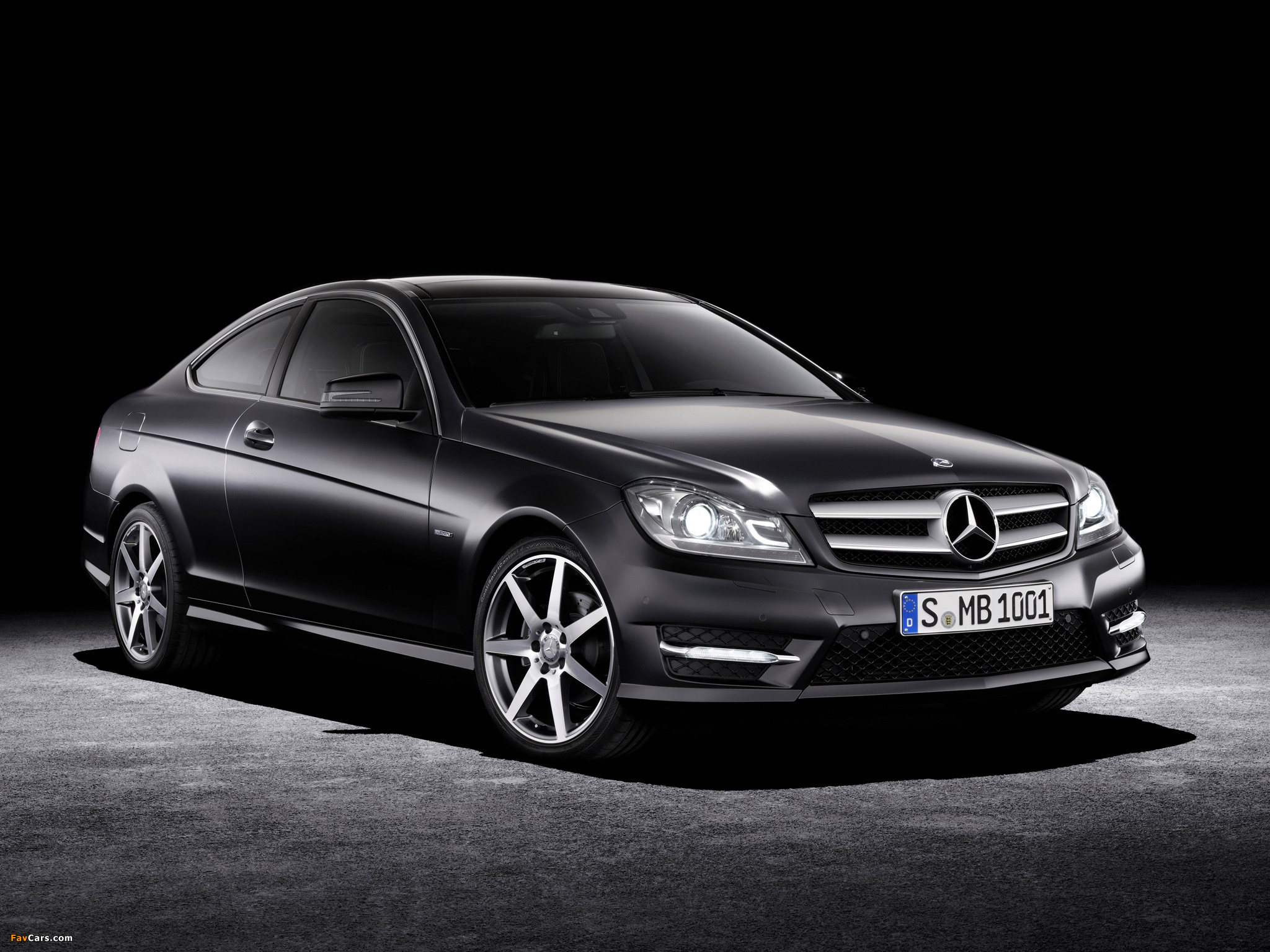 Mercedes-Benz C 250 CDI Coupe (C204) 2011 wallpapers (2048 x 1536)