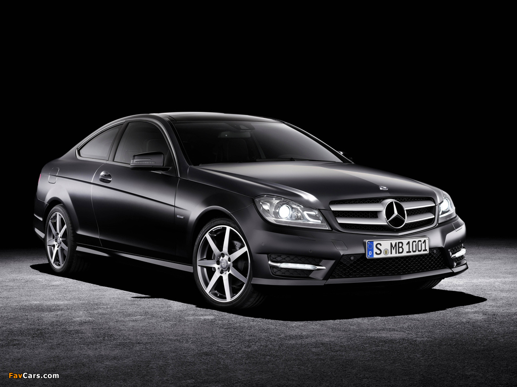 Mercedes-Benz C 250 CDI Coupe (C204) 2011 wallpapers (1024 x 768)